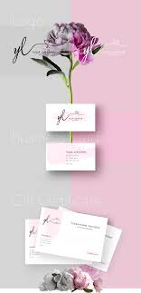 Business Gift Cards With Logo Logo Business Cards Gift Certificate Yl Nails Master On