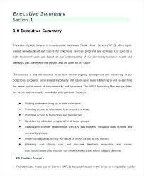 Army Template Project Executive Summary Beautiful Word Executi