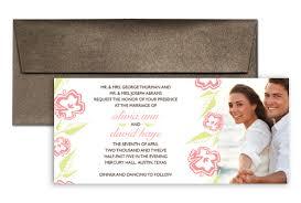 Wedding Template Microsoft Word Photo Template Microsoft Word Wedding Invitation 9x4 In