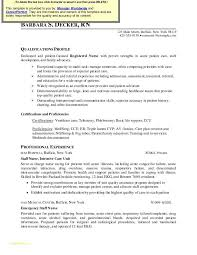 Resume Template For Nurses And Best Nurse Resume Format Pdf Nurse