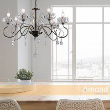 kathrine 7 light chrome french provincial pendant by amond local