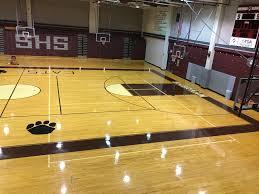 high school gym. Sherman High School Gym C