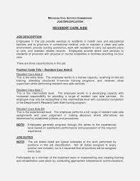 Job Description For Home Healthe Resume Example Free Dietary