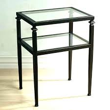 wood and glass end tables wrought iron end tables wood and iron coffee tables end wrought