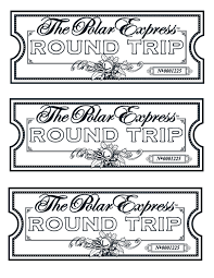 Small Picture My take on the Polar Express tickets We printed them on gold