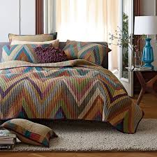 15 best Fall Favorites images on Pinterest | The company store ... & Chevron Fall Quilt Bedding The Company Store Adamdwight.com