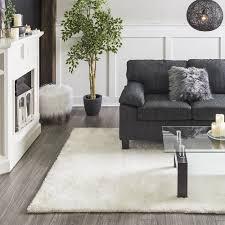 shag rugs. BIRK Shag Rug 6x9\u0027 (White) Rugs