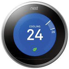 nest wi fi smart learning thermostat 3rd generation smart