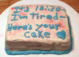 Funny Birthday Cakes Messages Classic Style Creative Funny