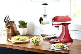 kitchenaid meat slicer attachment choices kitchenaid deli