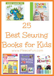 i love this collection of the best sewing books for kids so many great resources