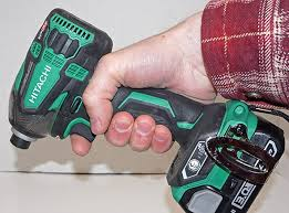 hitachi triple hammer. my grip on the hitachi triple hammer impact driver a