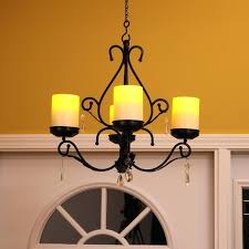 hanging candle chandelier diy pacific accents sconces combo black ls