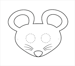 Printable Face Templates Custom Printable Elephant Masks Coloring Page Animal Template Farm