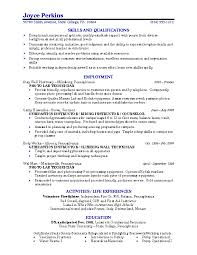 paragraph example job resume examples for college students summary