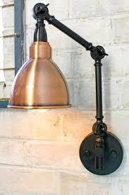 swing arm wall lamp shades sconce lamp shades best ideas wall lamp shades polished copper shade