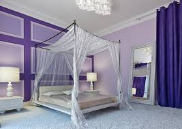 Creativity Elegant Bedroom Designs Purple Canopy Bed On Perfect Ideas
