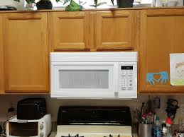 stove with microwave. stove with microwave e