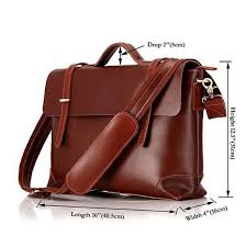 Handmade <b>Leather Briefcase For Men</b>/ Rare <b>Leather Bag For Men</b> ...