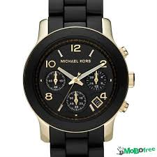 michael kors men s runway black silicone clothing michael kors men s runway black silicone chronograph watch clothing for at all ia