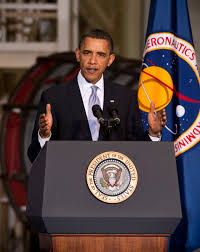 america s space program the obama years an impact report president barack obama delivers a speech at the operations and checkout building at nasa kennedy space
