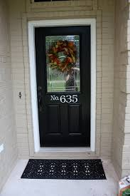 black doors white trim