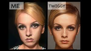 twiggy makeup transformation