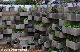 cinder block garden wall. The Cinderblock Wall Planter Idea Just Keeps Getting Bigger And Better. At Big Red Sun\u0027s Recently Reopened Boutique Nursery In East Austin, I Spotted This Cinder Block Garden