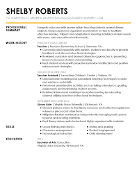 Simple Sample Resume Basic Resumes Samples View Of By Industry Experience Level