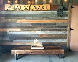 reclaimed wood furniture modern. Modern Reclaimed Furniture Long Wood Coffee Table Solid Steel Legs .