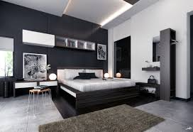 modern black white. Bed Room Ideas With Black And White Modern M