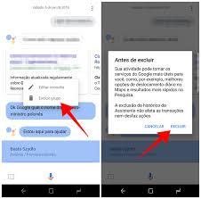 Como Remover O Histórico Do Google Assistente No Celular Downloads