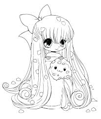 Anime Coloring Pages For Adults Cat Girl Online Best Images On Free