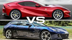 2018 ferrari lusso. plain lusso 2018 ferrari 812 superfast vs 2017 gtc4 lusso to ferrari lusso