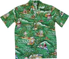 Mele Kalikimaka Hawaiian Christmas Shirt
