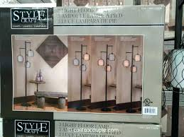 floor lamps at costco 3 light lamp cozy with regard to 10