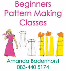 Pattern Making Classes Classy Fashion Courses Pattern Making Classes Durbanville Gumtree