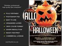 Halloween Flyers Templates Halloween Party Flyer Template 8 15 The Pumpkin 2 Flyerheroes