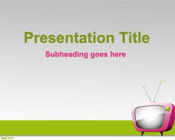 tv powerpoint templates online tv powerpoint template