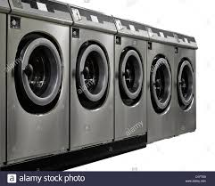 row of washing machines. Perfect Row A Row Of Industrial Washing Machines In A Public Laundromat  Stock Image Intended Row Of Washing Machines I