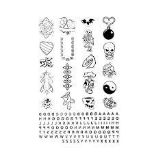 5 Ks Jednoduchá Konstrukce Dočasné Tetování