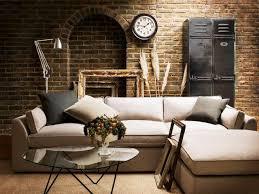 industrial living room furniture. beautiful living living spaces industriallivingroom throughout industrial room furniture n