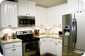 Painted White Kitchen Cabinets Kitchen Lowes White Kitchen Cabinets Home Interior Design