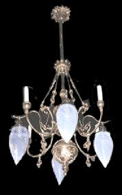 victorian gas electric chandelier 139