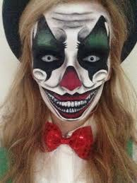 s google blank html creepy clown makeup