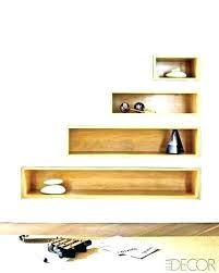 how to install a floating shelf recessed installing wall shelves awesome best ideas on door easy