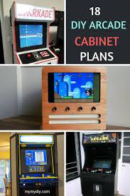 18 fantastic diy arcade cabinet plans list