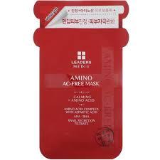 Leaders, <b>Mediu</b>, <b>Amino AC-Free</b> Mask, 1 Sheet, 25 ml