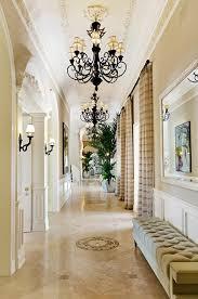 Hallway: Luxury 21,000 square foot Spanish Mediterranean Mansion located in  Rancho Santa Fe