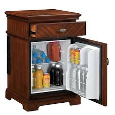 tiny refrigerator office. Compact Refrigerator End Table Furniture Mini Fridge Chest College Dorm Storage Tiny Office C